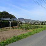 2016年3月 山武郡横芝 営農型太陽光発電施工事例を更新しました。