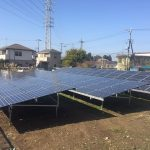 2017/1月 千葉県千葉市若葉区 野立て太陽光発電所施工事例を更新しました。