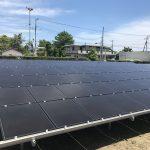 2017年7月 千葉県山武市九十九里町 太陽光発電所施工事例を更新しました。