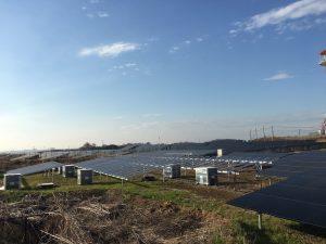 2018年4月 栃木県藤岡市 太陽光発電所施工工事例を更新しました。