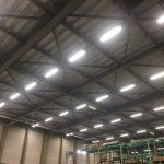 2017年8月 静岡県掛川市 倉庫内LED化工事