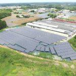 2020年6月 『千葉県八街市太陽光発電所1メガ』施工事例を更新しました。